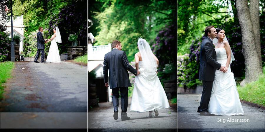 Bröllop  – Villa Odinslund, Göteborg