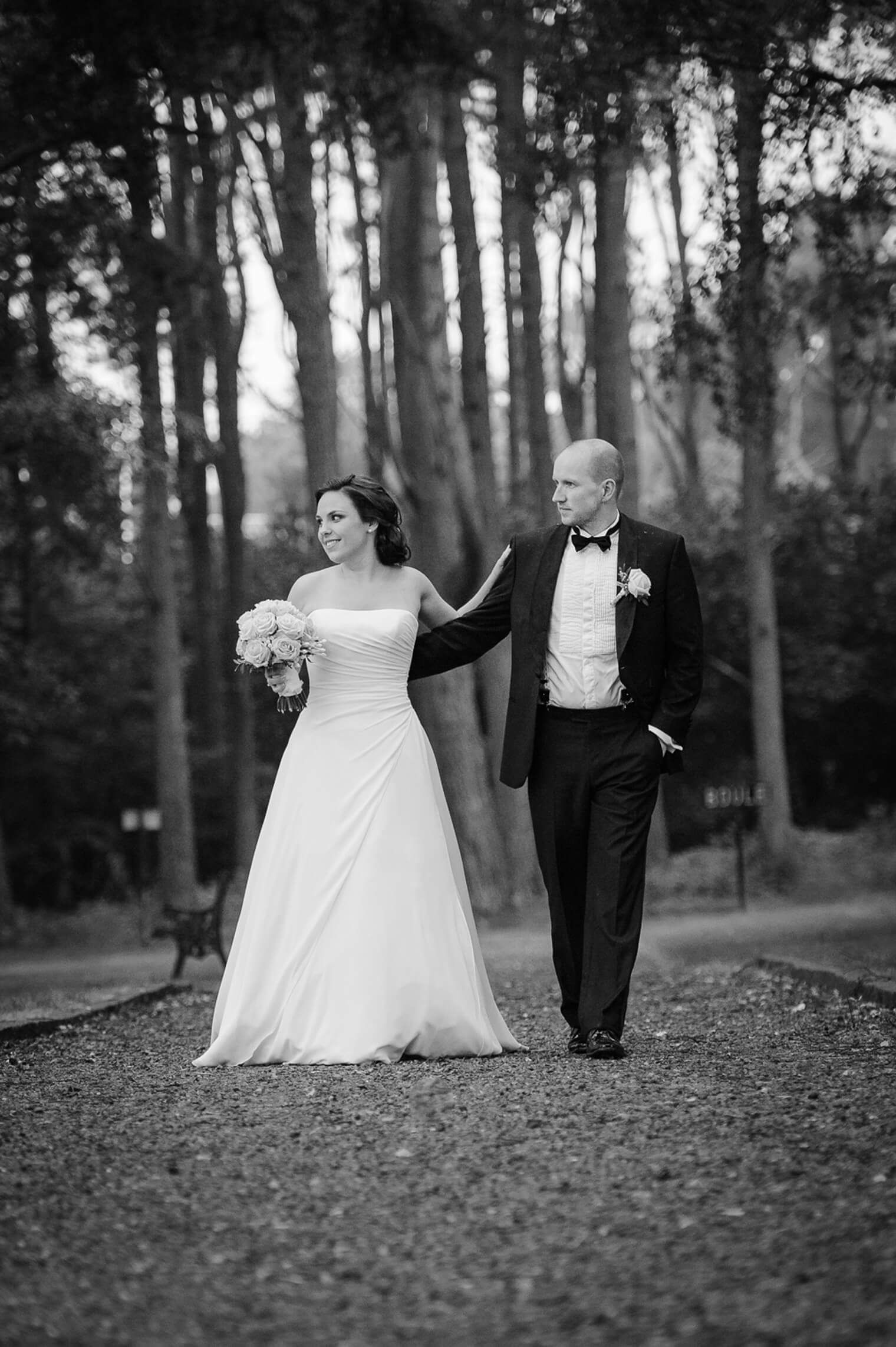 Heldagsbröllop – brudpar från Oslo
