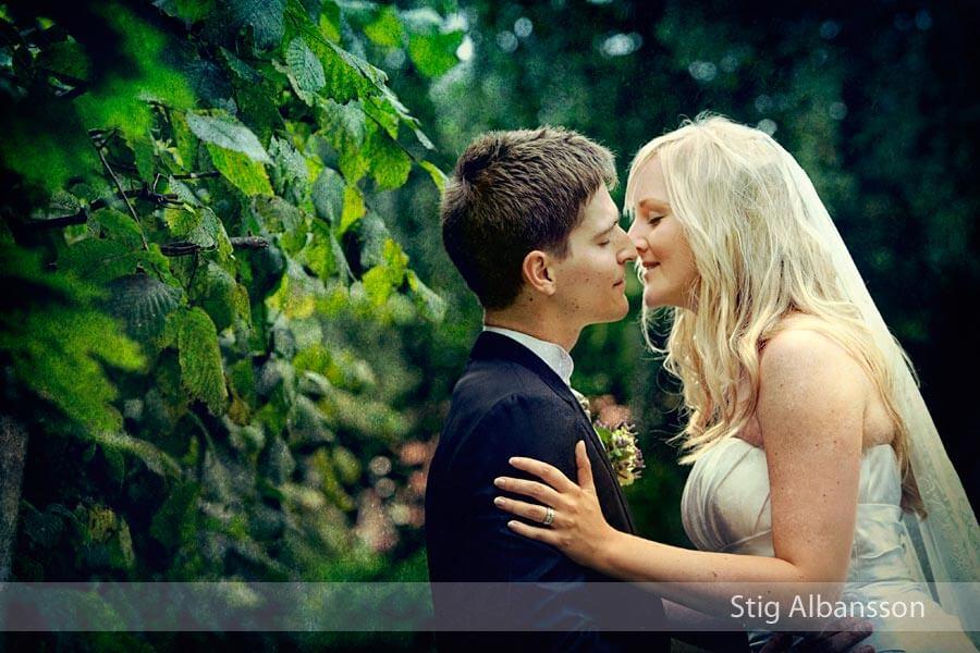 Ett bröllopsfoto från Styrsö