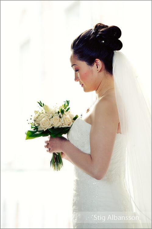 bröllopsfotografering på Thorskogs slott