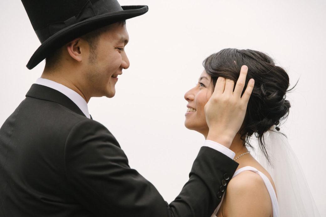 Före-bröllopet fotografering med par från Hong Kong