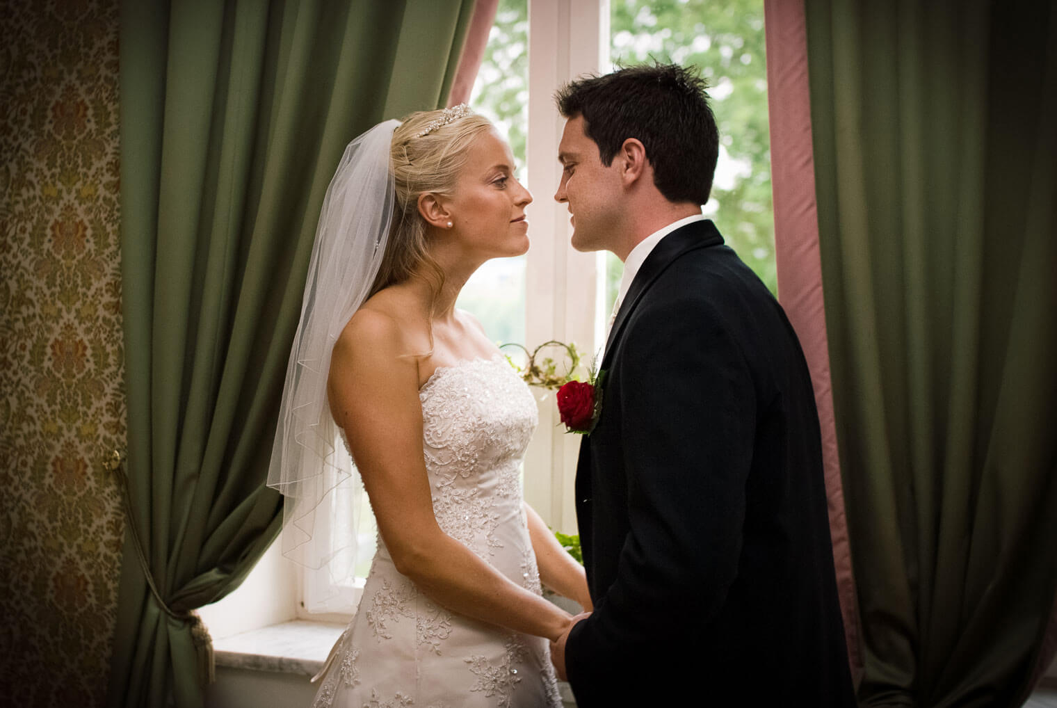 Bröllopsfotografering på Thorskogs Slott – Återblick