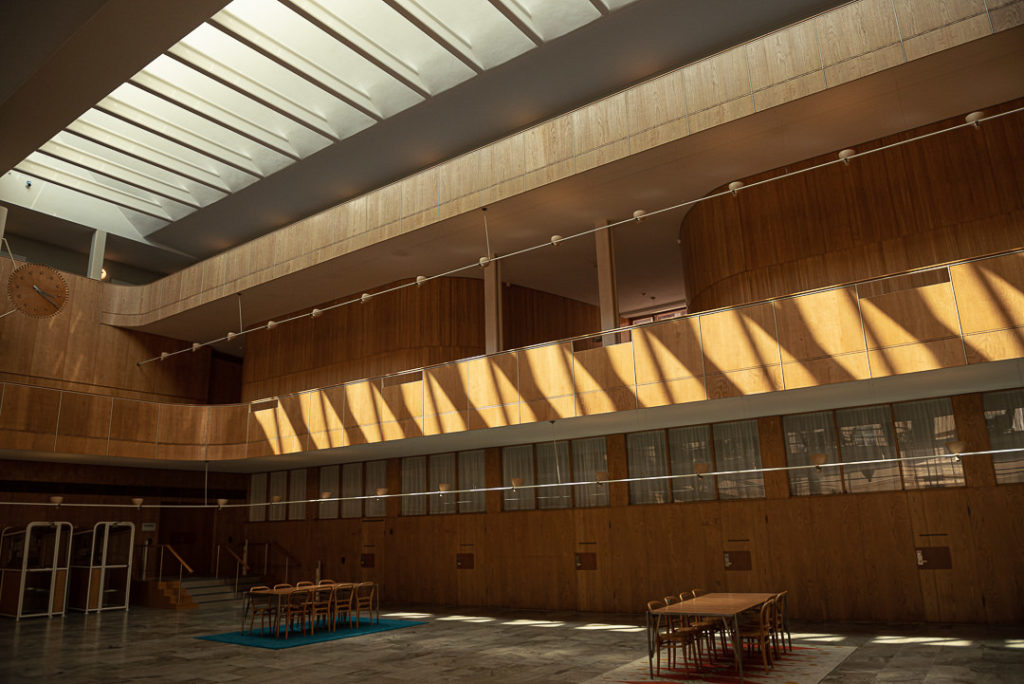 Interiör Rådhuset i Göteborg