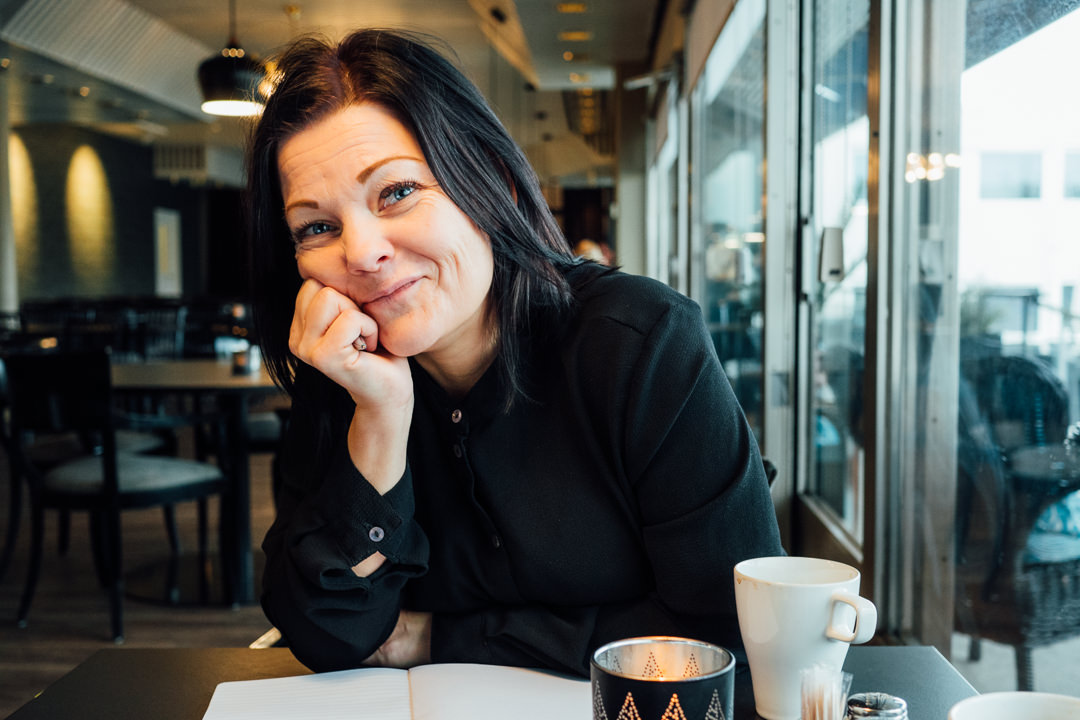 Reportagefoto på Fredrika Selinder, Kongelfs Gästgifveri och Camping